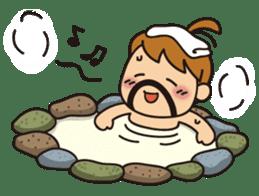 OYADI-LADY sticker #312817