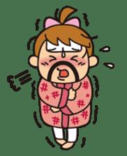 OYADI-LADY sticker #312821