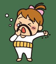 OYADI-LADY sticker #312822