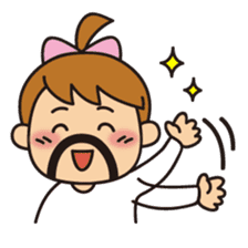 OYADI-LADY sticker #312824