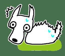 My Dog MAME sticker #313030