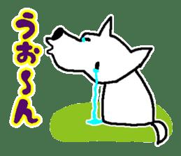 My Dog MAME sticker #313037