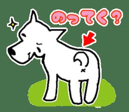 My Dog MAME sticker #313042