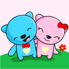 MR AND MRS BEAR ( IN LOVE )