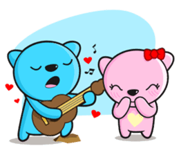 MR AND MRS BEAR ( IN LOVE ) sticker #313314