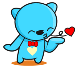 MR AND MRS BEAR ( IN LOVE ) sticker #313321