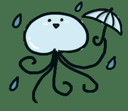 jellyfish sticker #313564