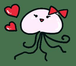 jellyfish sticker #313572