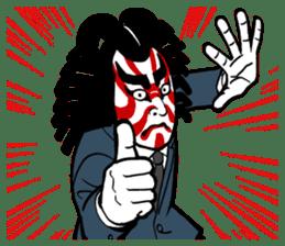 KABUKI salaryman sticker #313585