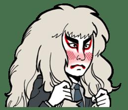 KABUKI salaryman sticker #313591