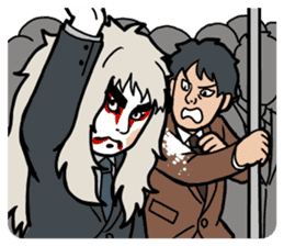 KABUKI salaryman sticker #313595