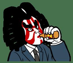 KABUKI salaryman sticker #313615