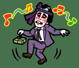 KABUKI salaryman sticker #313619