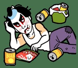 KABUKI salaryman sticker #313622