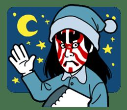 KABUKI salaryman sticker #313624