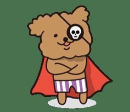 Selfish poodle sticker #313966
