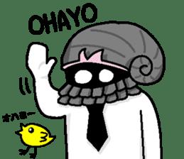 Gentleman on the seafloor 'SUKE-OJISAN' sticker #313995