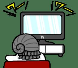 Gentleman on the seafloor 'SUKE-OJISAN' sticker #314023