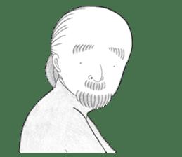 """The Unnoticed """"Little Ojisan"""" Sticker sticker #315208"""