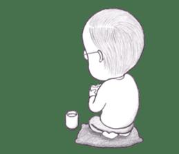 """The Unnoticed """"Little Ojisan"""" Sticker sticker #315211"""