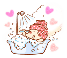 The housewife who likes variety programs sticker #315459