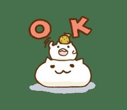 mochi-neko sticker #315665