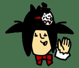 RINA OCHOKU Simple emoticons ver. sticker #316351