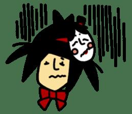 RINA OCHOKU Simple emoticons ver. sticker #316352