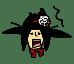 RINA OCHOKU Simple emoticons ver. sticker #316354