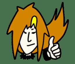 RINA OCHOKU Simple emoticons ver. sticker #316357