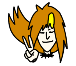 RINA OCHOKU Simple emoticons ver. sticker #316358