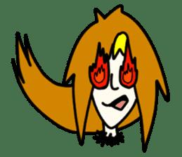 RINA OCHOKU Simple emoticons ver. sticker #316362