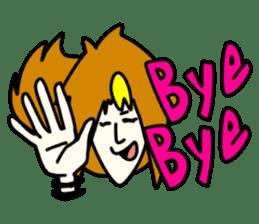 RINA OCHOKU Simple emoticons ver. sticker #316365