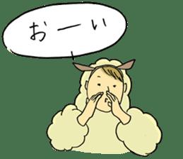 HITSUJI-kun sticker #316790