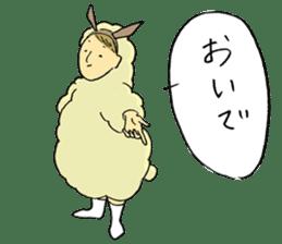 HITSUJI-kun sticker #316801