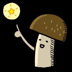 Feeling of mushroom