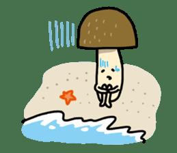 Feeling of mushroom sticker #316874