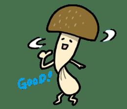 Feeling of mushroom sticker #316878