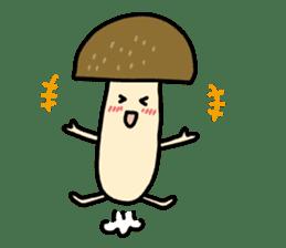 Feeling of mushroom sticker #316891