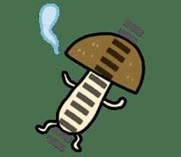 Feeling of mushroom sticker #316898