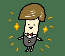 Feeling of mushroom sticker #316900