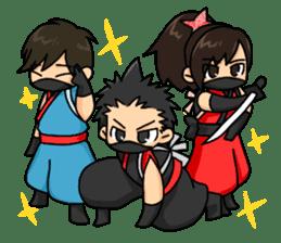 AST Ninja 01 sticker #317025