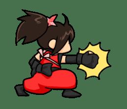 AST Ninja 01 sticker #317031