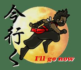 AST Ninja 01 sticker #317032
