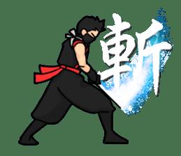 AST Ninja 01 sticker #317035