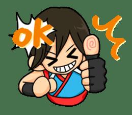 AST Ninja 01 sticker #317038
