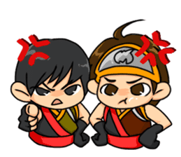 AST Ninja 01 sticker #317051