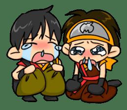 AST Ninja 01 sticker #317053