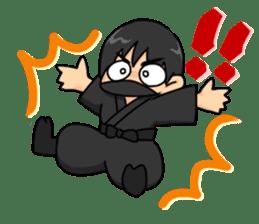AST Ninja 01 sticker #317054
