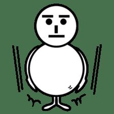 Snowman sticker #317810